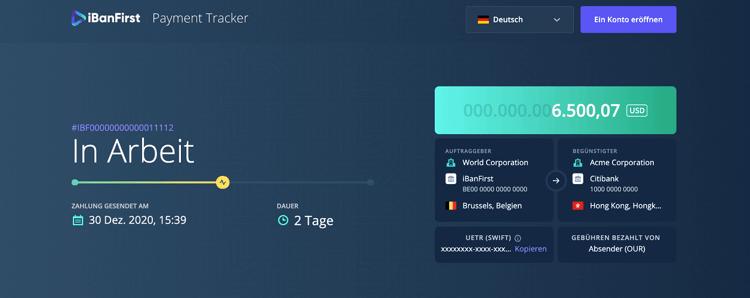 Payment Tracker DE